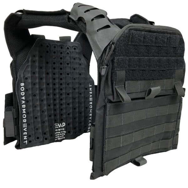 Body armor vent retro fit kit plate carrier