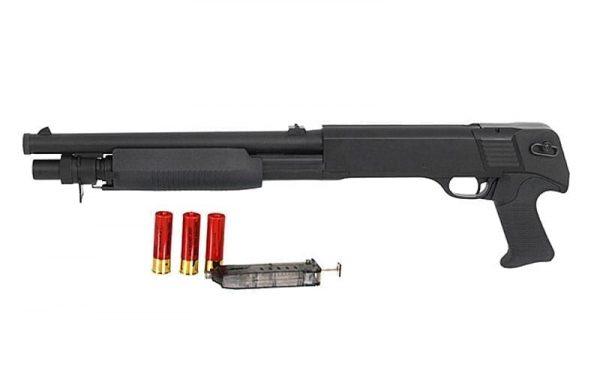DE M56B shotgun tri-shot 3 rounds