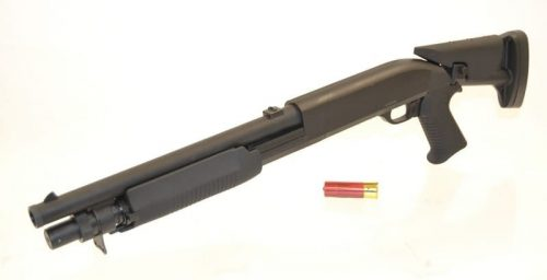 DE M56c shotgun tri-shot 3 rounds