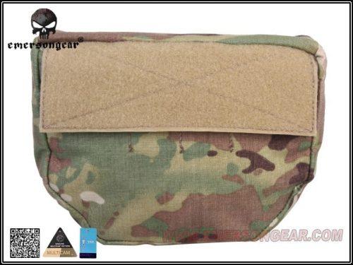 Emerson Gear Plate carrier front drop pouch Multicam 2 Emerson Gear Plate Carrier Front Drop Pouch