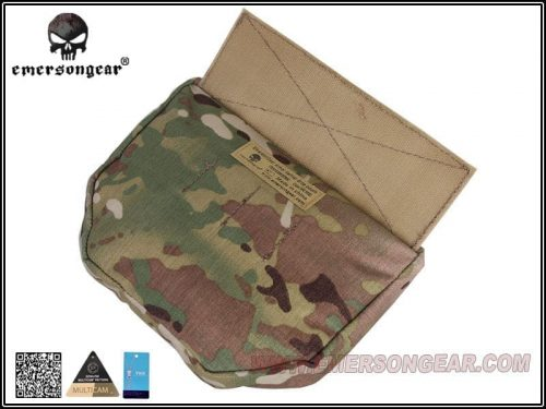 Emerson Gear Plate carrier front drop pouch Multicam 4 Emerson Gear Plate Carrier Front Drop Pouch