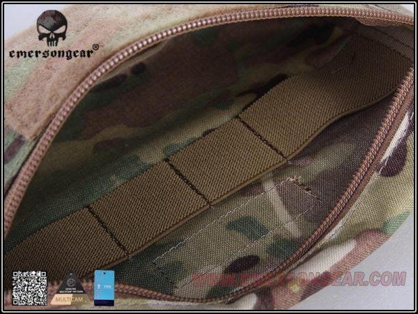 Emerson Gear Plate carrier front drop pouch Multicam 5 Emerson Gear Plate Carrier Front Drop Pouch