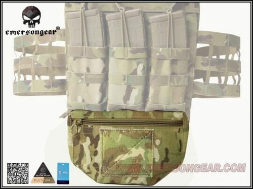 Emerson Gear Plate carrier front drop pouch Multicam 6 Emerson Gear Plate Carrier Front Drop Pouch