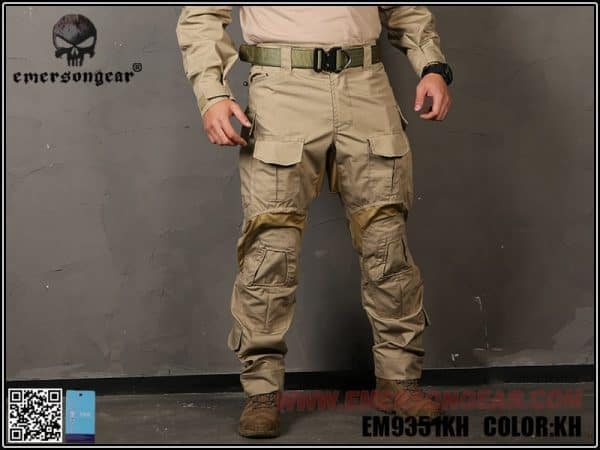 Emerson gear G3 combat pants khaki 1 Emerson Gear G3 Combat Pants - Khaki