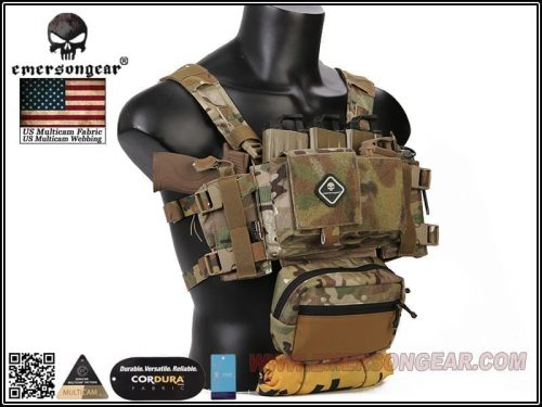Emersongear Micro Fight Chissis MK3 Chest Rig Black 3 Emerson gear Micro Fight Chassis MK3 Chest Rig - Coyote Brown