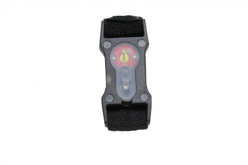 FMA 1inch Webbing SPLIT BAR Flashing Light -Black