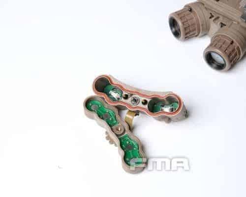 FMA GPNVG-18 Dummy Inc. Hard case - Dark Earth