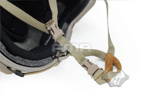 FMA ops core Helmet Suspension Chin Extender Strap - Tan