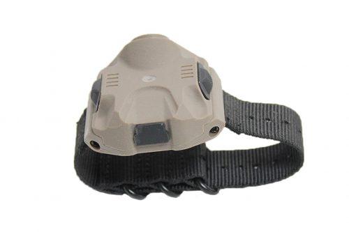FMA Nylon Wrist light with USB charger - DE