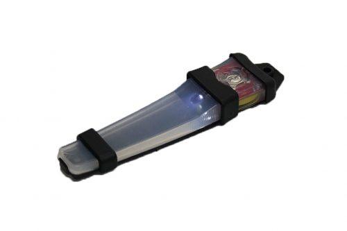 FMA Velcro V light Black - White light