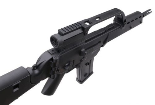 JG JG1538 with V Stock and Scope