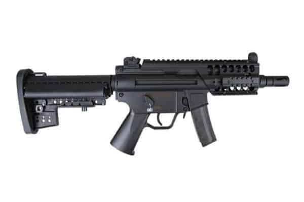 JG MP5K with m4 stock and rails JG206