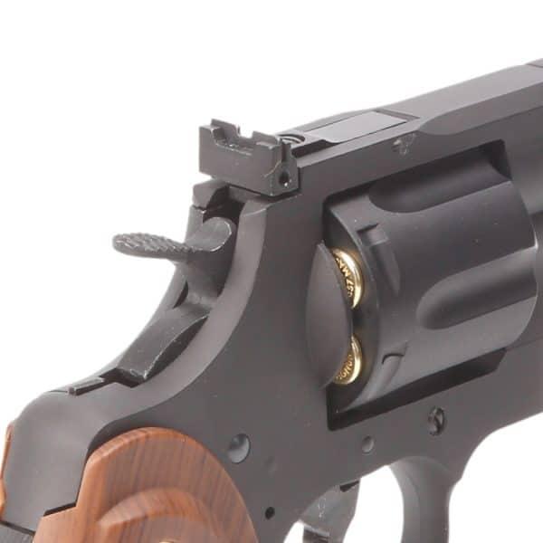 "King Arms 2.5"" Python 357 (Gas version) - Black"