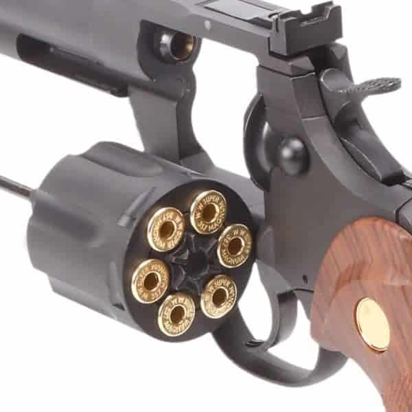 "King Arms 4"" Python 357 (Gas Version) - Black"