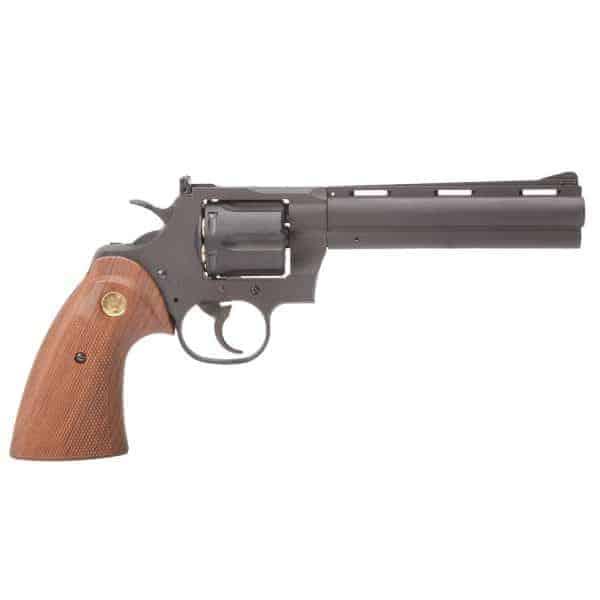 "King Arms 6"" Python 357 (Gas version) - Black"