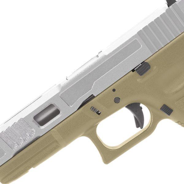 King Arms KA17 Custom II - Tan And Silver