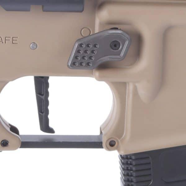 King Arms M4 Striker Keymod CQB Ultra Grade II - Dark Earth