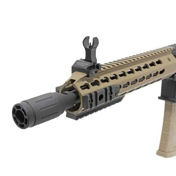 King Arms M4 TWS KeyMod CQB Elite - Dark Earth