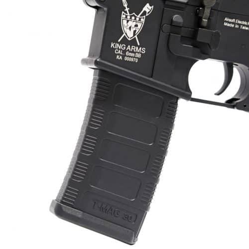 King Arms M4 TWS KeyMod Carbine Elite  - Black