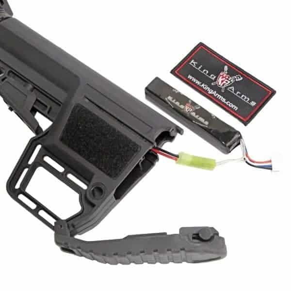 King Arms M4 TWS KeyMod Carbine  Elite - Grey