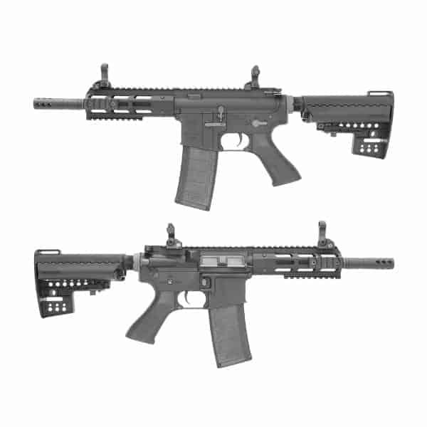 King Arms M4 TWS M-LOK CQB Ultra Grade II - Black
