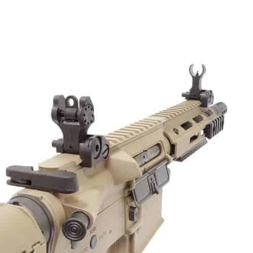 King Arms M4 TWS M-LOK CQB Ultra Grade II - Dark Earth