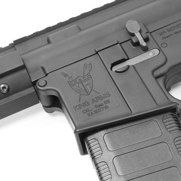 King Arms M4 TWS M-LOK Rifle Ultra Grade II - Black