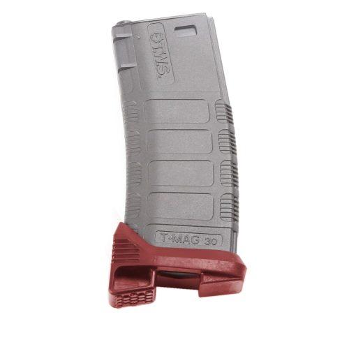 King Arms M4 TWS Magazine Base Pad - Red