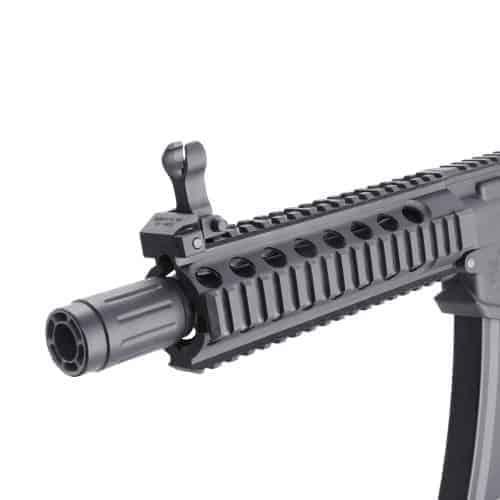 King Arms PDW 9mm SBR Long - Black & Blue
