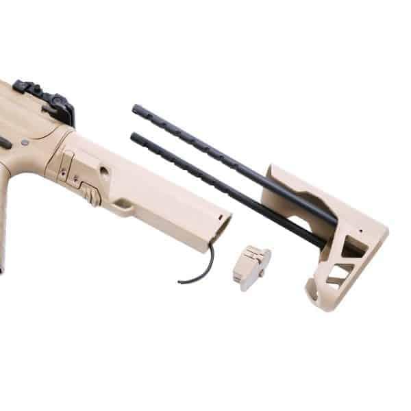 King Arms PDW 9mm SBR Long - Dark Earth