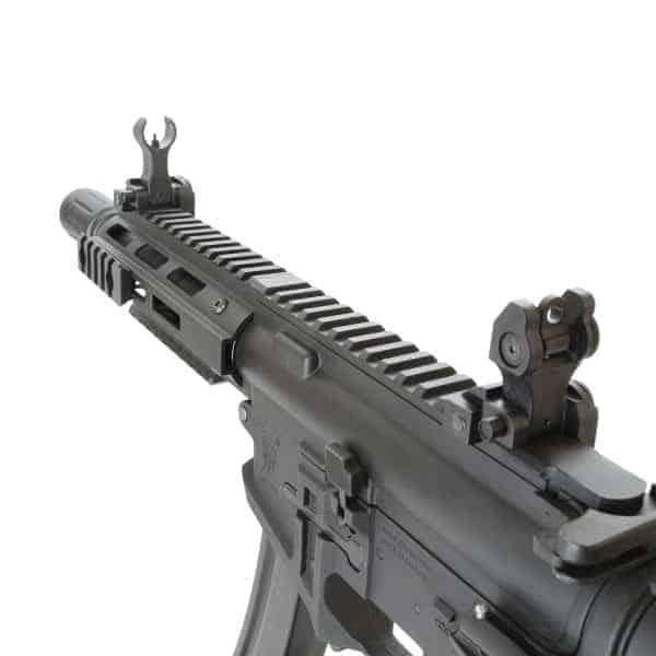 King Arms PDW 9mm SBR M-LOK - Black