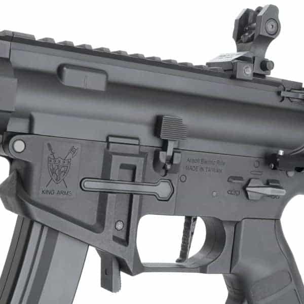 King Arms PDW 9mm SBR SD - Black