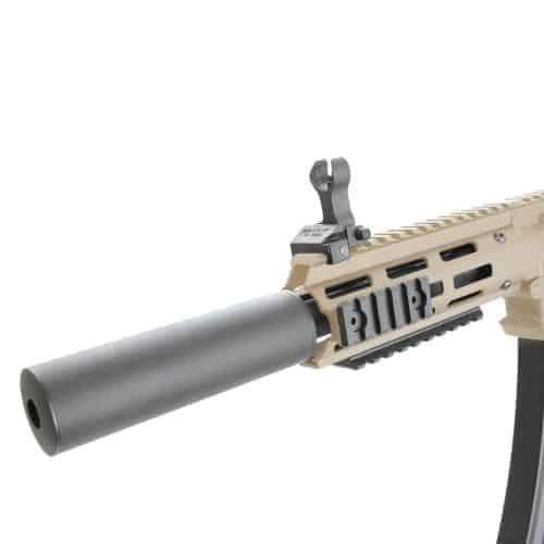 King Arms PDW 9mm SBR SD - Dark Earth