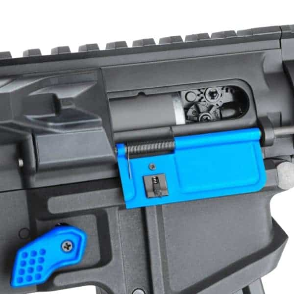 King Arms PDW 9mm SBR Shorty - Black & Blue