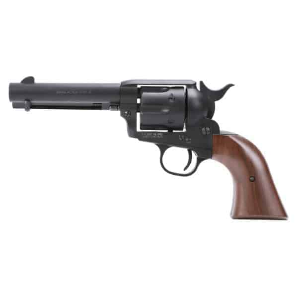 King Arms SAA .45 Peacemaker Revolver S - Dull Black
