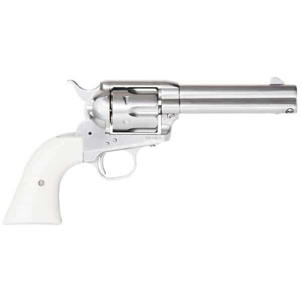 King Arms SAA .45 Peacemaker Revolver S - Silver (Reconditioned)