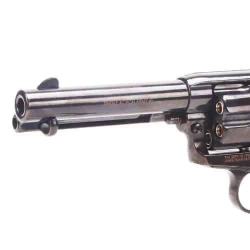 King Arms SAA .45 Peacemaker Revolver S - Electroplating Black