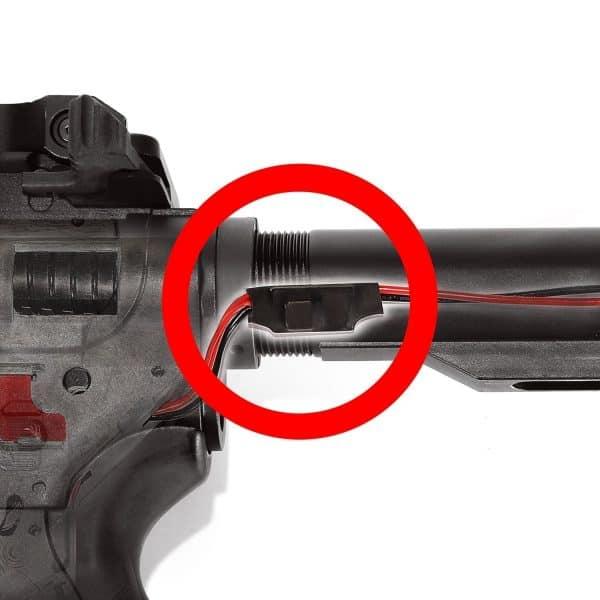 King Arms PDW 9mm SBR SD - Gun Metal Grey