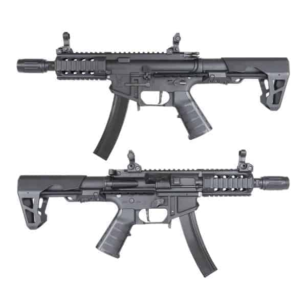 King Arms PDW 9mm SBR Shorty - Black