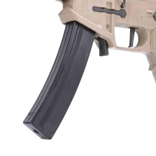 King Arms PDW 9mm SBR Shorty - Dark Earth