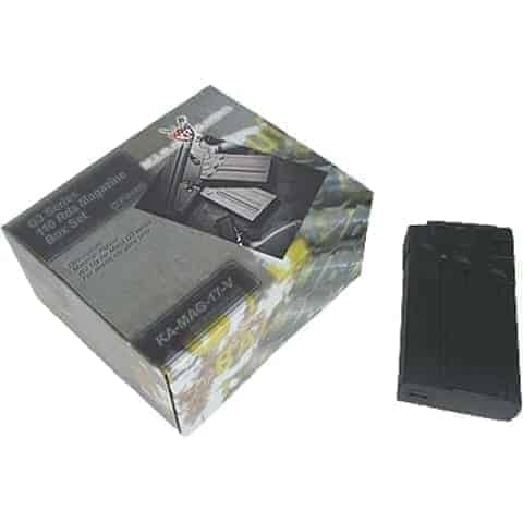 King Arms G3 110 Rounds Magazines Box Set (5pcs)