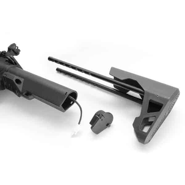 King Arms M4 Striker Keymod CQB Ultra Grade II - Black