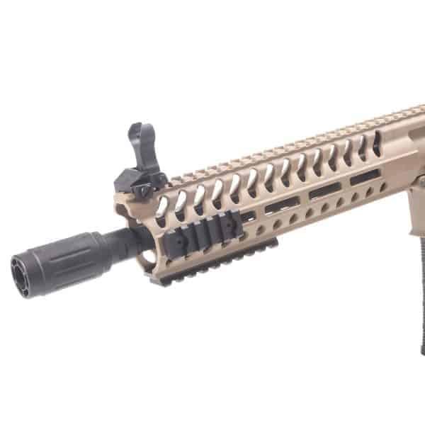 King Arms M4 Striker M-LOK CQB Ultra Grade II - Dark Earth