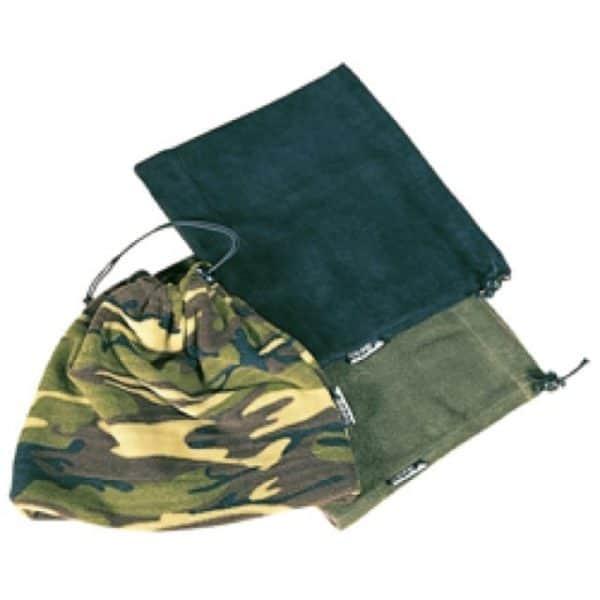 Fleece neck/hat gaitor in OD green