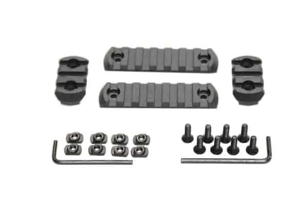 Oper8 4 piece MLOK rail set (polymer)