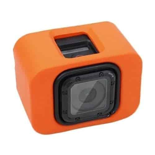 PULUZ Floaty Case with Backdoor for GoPro HERO4 Session (Orange)