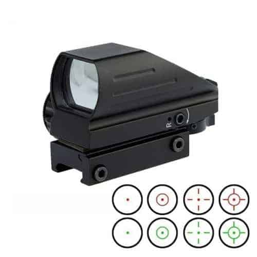 Electro Red/Green Dot 4 Reticle Reflex Sight