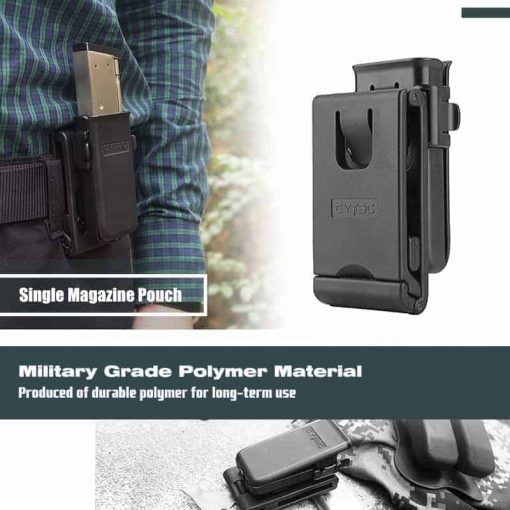 Cytac Single pistol mag pouch 9mm .40 0.45 cal