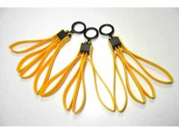 TMC Flex Plastic Dummy Restraints (3 Pcs) - Yellow