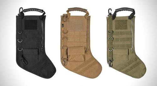Oper8 Christmas Tactical Stocking - OD Green